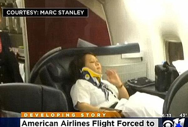 Máy bay rơi tự do, hành khách khiếp vía