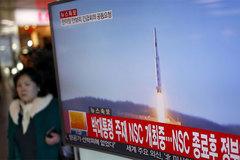 Triều Tiên bắn tiếp tên lửa ra biển