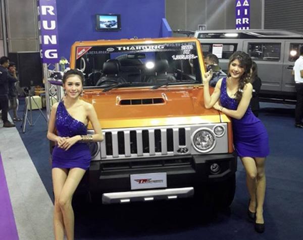 Hummer Thái Lan 900 triệu, đại gia Việt