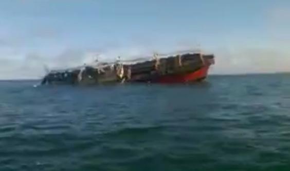 Phút cuối của tàu cá TQ bị Argentina đánh chìm
