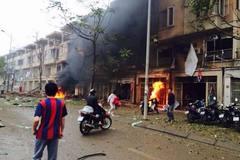 Hà Nội: Nổ lớn tại khu đô thị Văn Phú, Hà Đông