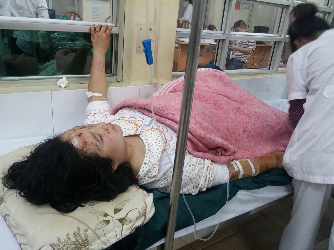 Hai mẹ con ôm nhau chết trong vụ nổ Văn Phú