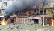 Khoảnh khắc phát nổ như bom tại khu đô thị Văn Phú