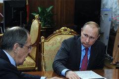 Vật thể bí ẩn sau lưng ông Putin