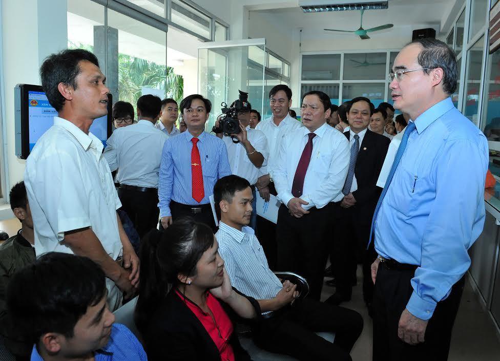 dân chấm điểm chính quyền, quảng trị, Chủ tịch UB TƯ MTTQ VN, Nguyễn Thiện Nhân