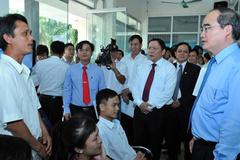 Chủ tịch MTTQ khảo sát dự án dân chấm điểm chính quyền
