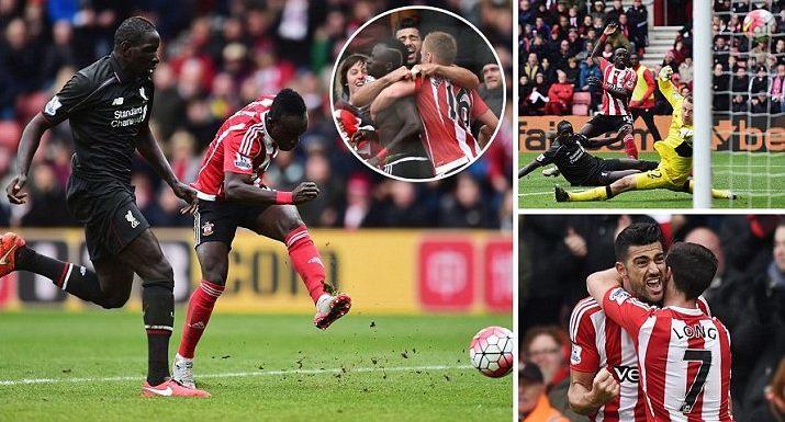 Liverpool thua ngược khó tin trước Southampton