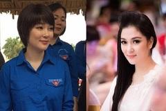 Hình ảnh khác lạ của Hoa hậu Nguyễn Thị Huyền