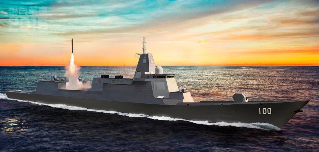 Uy lực khu trục hạm 'quái vật' của Trung Quốc