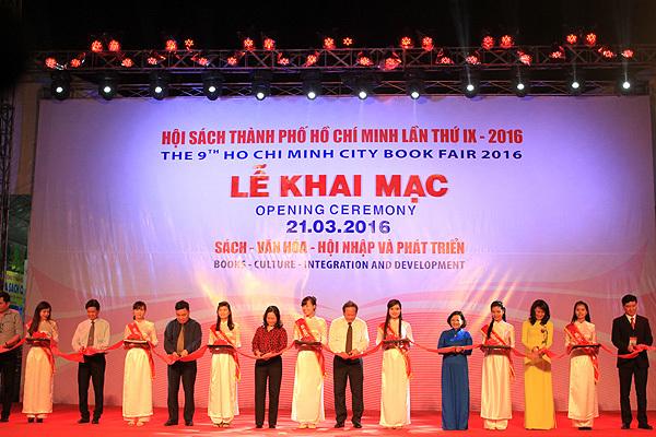 Khai mạc Hội sách TP HCM lần thứ IX