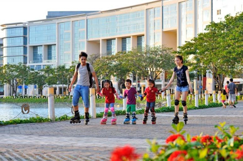 Lần đầu tiên có phố đi bộ trong dự án BĐS