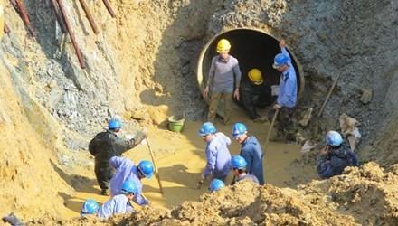 ống nước sông Đà, vỡ ống sông Đà, Vinaconex, Viwasupco, mất nước, khởi tố