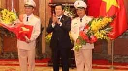 Phong hàm Thượng tướng cho 2 Thứ trưởng Công an