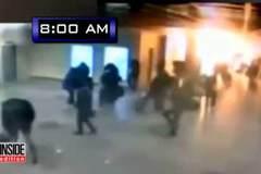 Video ghi lại khoảnh khắc bom phát nổ giữa sân bay Bỉ