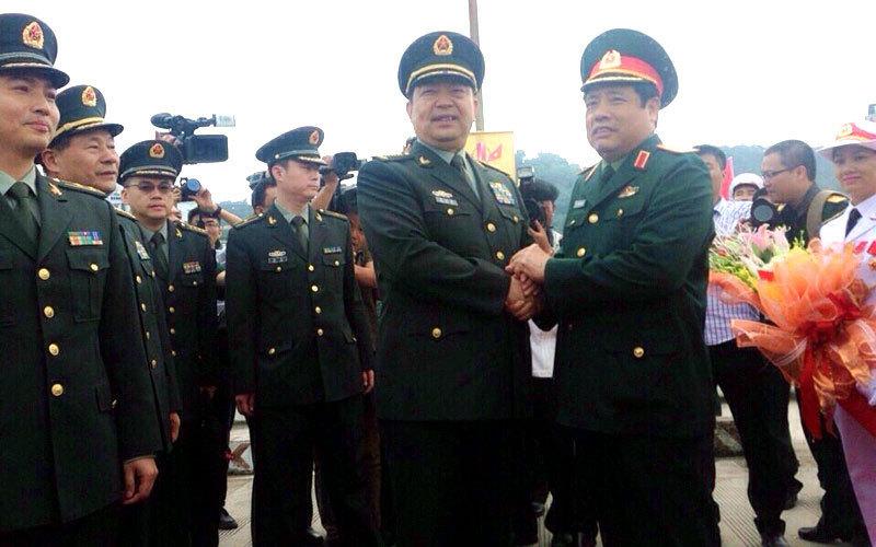 Bộ Quốc phòng Trung Quốc, Thường Vạn Toàn, bộ trưởng quốc phòng phùng quang thanh