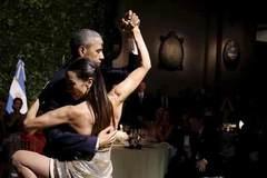 Xem Obama nhảy tango ở Argentina
