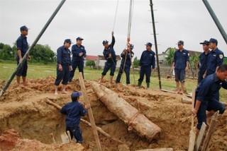 300 năm nữa mới xóa hết bom mìn trôi nổi ở Việt Nam