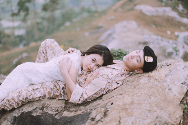'Điêu đứng' trước bộ ảnh cưới 'Hậu duệ mặt trời' phiên bản Việt