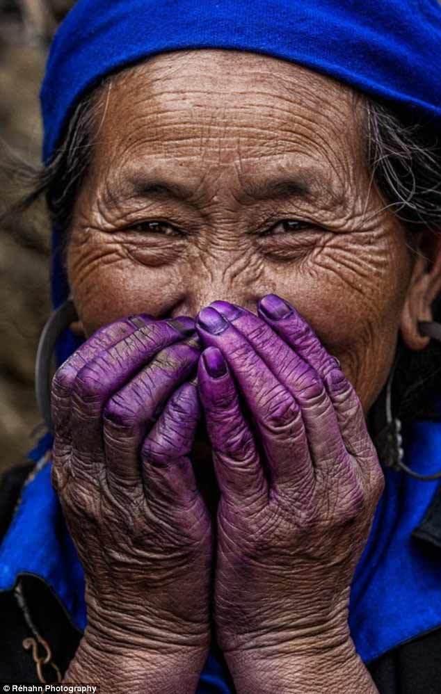 nhiếp ảnh gia Pháp, Việt Nam, nụ cười, chụp ảnh
