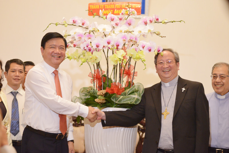 Đinh La Thăng, Tòa giám mục, Tổng giáo phận TP.HCM