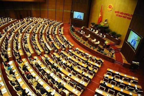 Nhìn lại nhiệm kỳ Quốc hội khóa XIII, Làm luật, nợ dân,  nợ nước, Luật Biểu tình, Luật về Hội