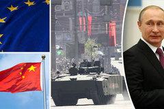 """Nga dựng """"bức tường"""" quân sự từ châu Âu tới TQ"""