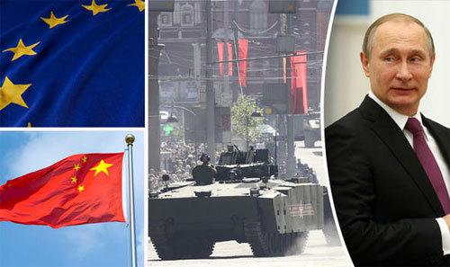 Nga dựng 'bức tường' quân sự từ châu Âu tới TQ