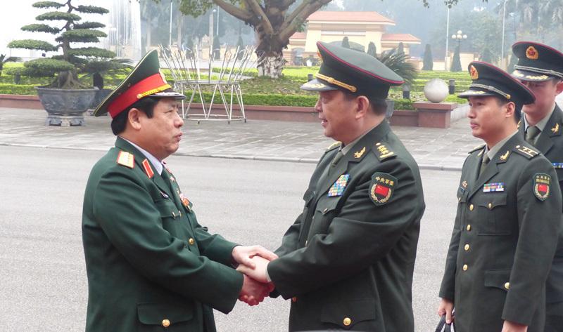 Quân đội Việt-Trung nhất trí kiềm chế, không để xung đột