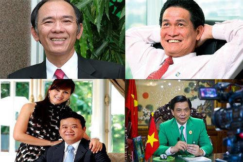 Đại gia Việt: Thăng hoa vốn vay, còng lưng nợ lãi