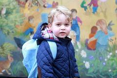 Hoàng tử bé nước Anh ghi danh ở trường mẫu giáo của bố