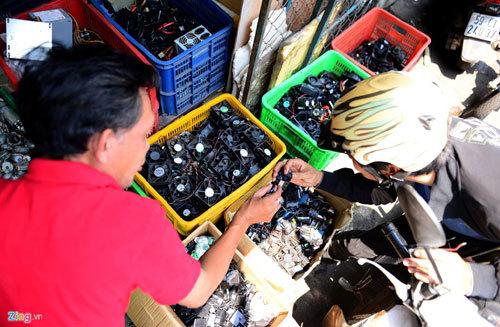 Chợ trời đồ cũ Sài Gòn