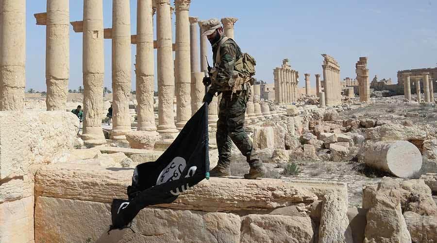 Hình ảnh 'di sản thế giới' tan nát dưới tay IS