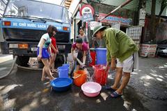 Hà Nội yêu cầu đẩy nhanh đường ống sông Đà số 2