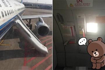 Khách TQ gây bão vì mở cửa thoát hiểm máy bay đi vệ sinh