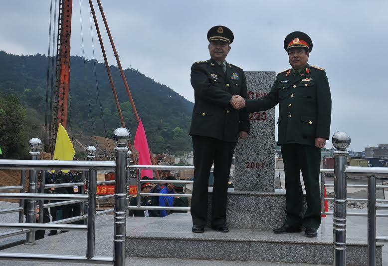 tuần tra chung biên giới, bộ trưởng quốc phòng Phùng Quang Thanh