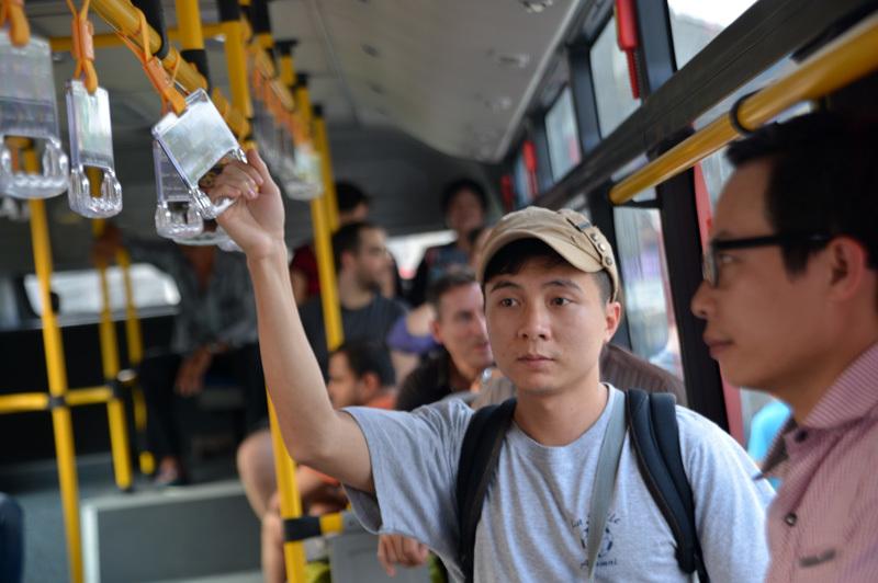 xe buýt, xe 5 sao, sân bay