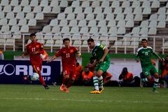 Video: Iraq 1-0 Việt Nam