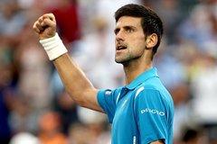 Djokovic vào tứ kết, Murray bật bãi khỏi Miami Open