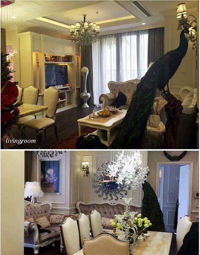 20160330152015 can ho hang sang 3 Khám phá căn hộ sang của cô gái Hà thành từng 12 lần thẩm mỹ