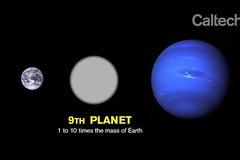 Thêm chứng cứ về hành tinh bí ẩn thứ 9 trong hệ Mặt trời