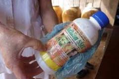 Vợ pha thuốc diệt cỏ vào nước đường cho chồng uống