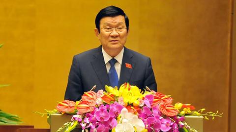 Chủ tịch nước, Trương Tấn Sang, miễn nhiệm, Nguyễn Thị Kim Ngân