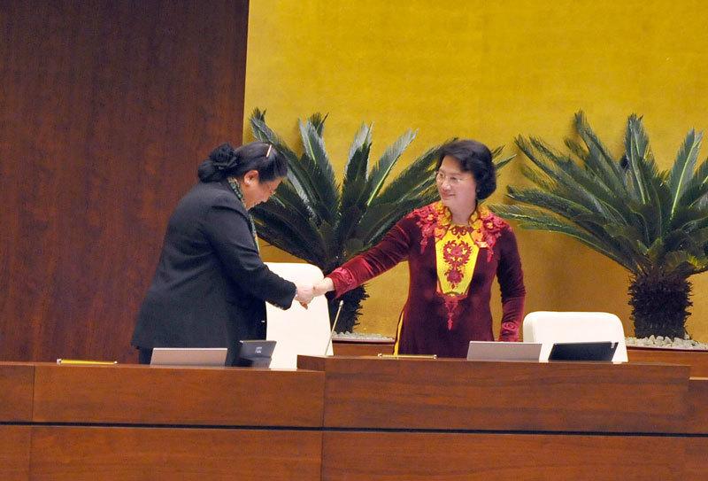Bà Nguyễn Thị Kim Ngân trở thành nữ Chủ tịch QH đầu tiên