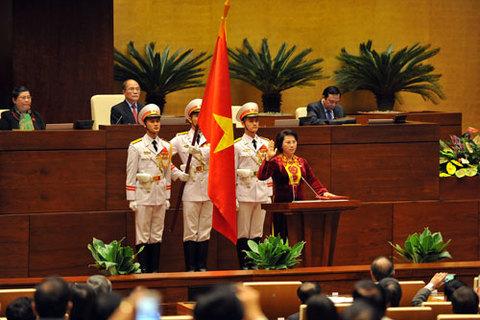 Chủ tịch QH tuyên thệ nhậm chức
