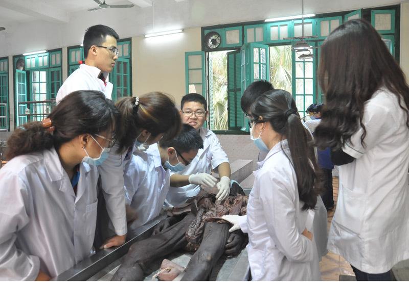 Cận cảnh phòng xác của Trường ĐH Y Hà Nội
