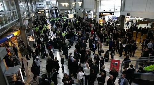 Sân bay lớn thứ hai Thụy Điển bị dọa bom