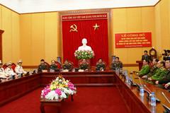 Thăng cấp tướng một số lãnh đạo, chỉ huy Bộ Công an