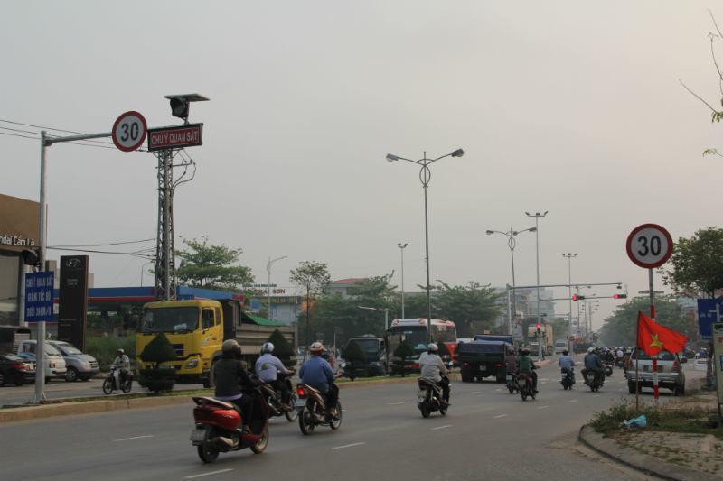 biển rùa bò, hạn chế tốc độ, Đà Nẵng