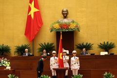Chủ tịch nước tuyên thệ trung thành với Tổ quốc, nhân dân