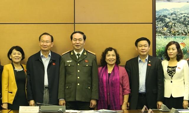 Chủ tịch nước Trần Đại Quang, Bộ trưởng Công an